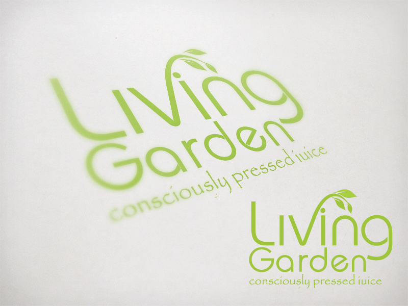 living garden needs a new logo