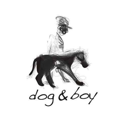 Logo design : Capture the essence of new Melbourne textile designer 'dog & boy'