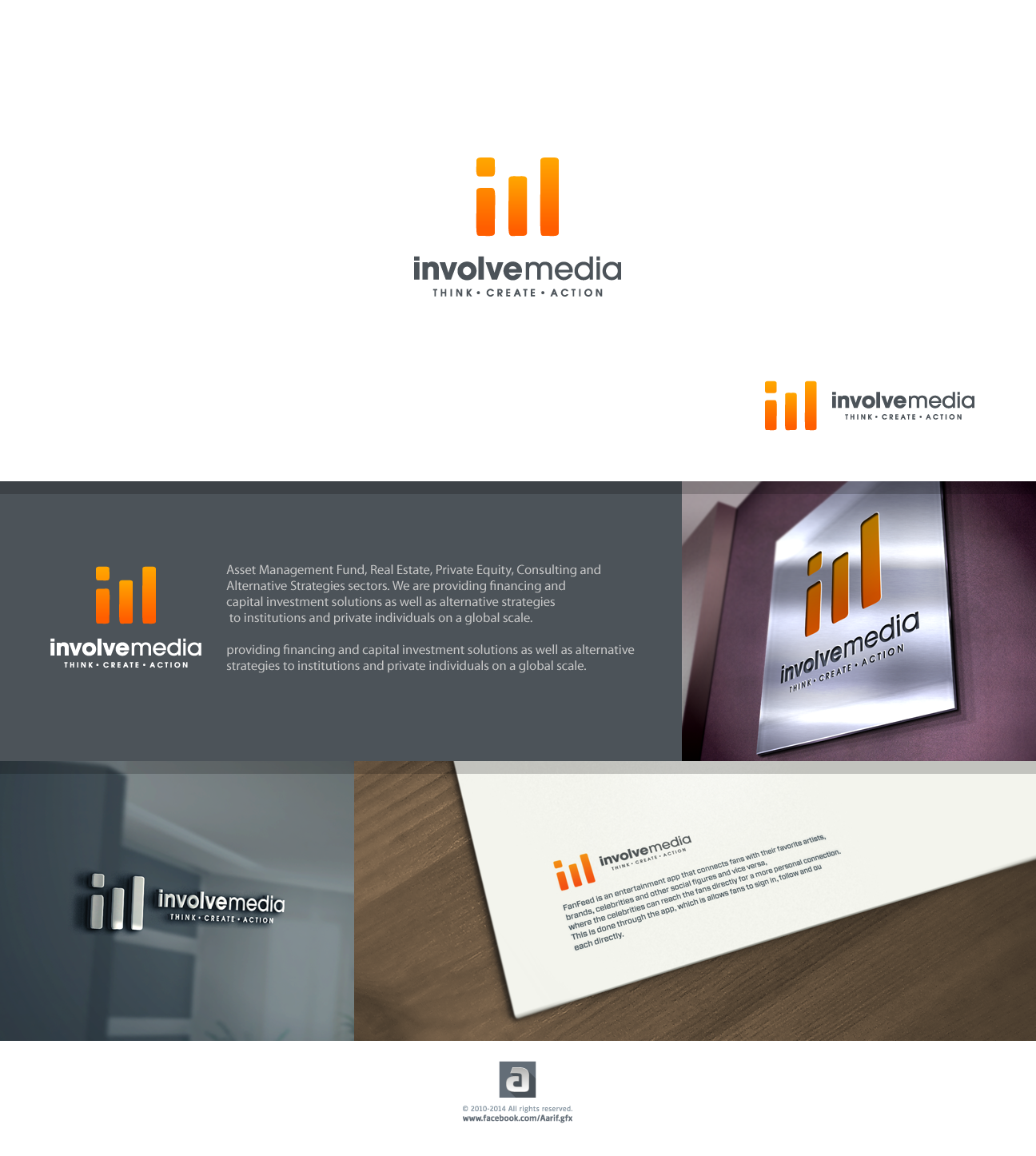 Clean and simple LOGO design with a Strong impact