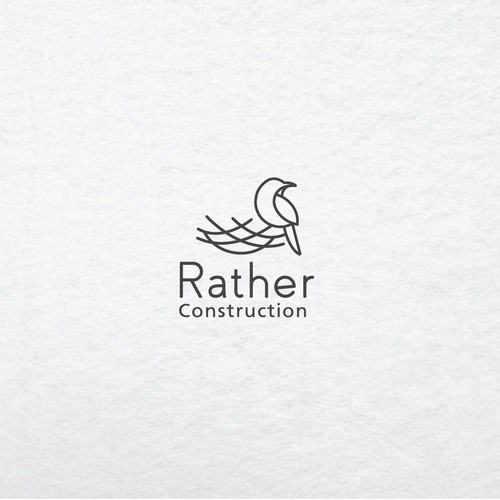 Logo contest entry for Rather Construction