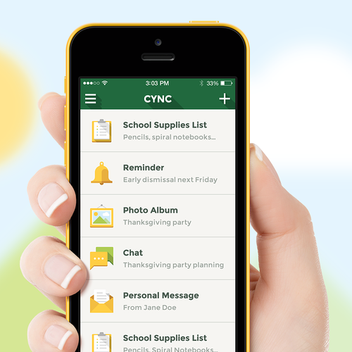 App Design of a Social Network for School Kids
