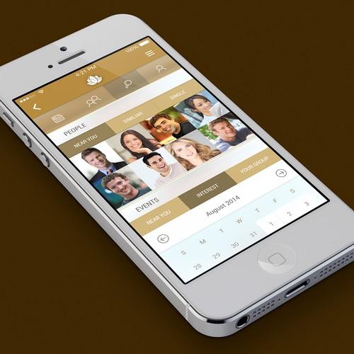 Social App Design.