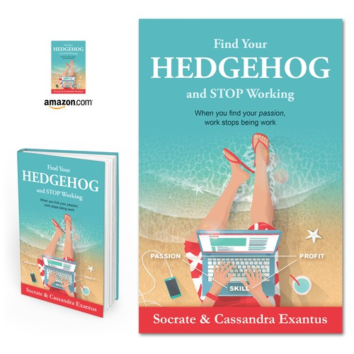 "Book cover for ""Find Your Hedgehog and Stop Working"""