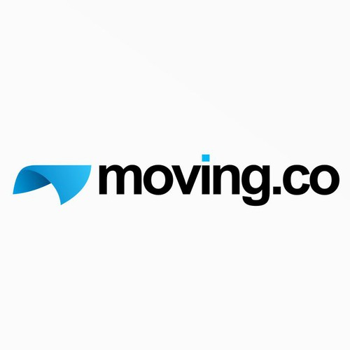 Logo concept for moving.co