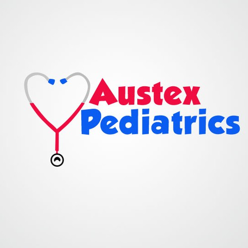 Kid Focused Fun Logo for Austin TX Pediatric Office