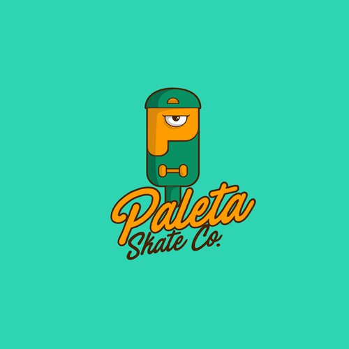 paleta skate co logo