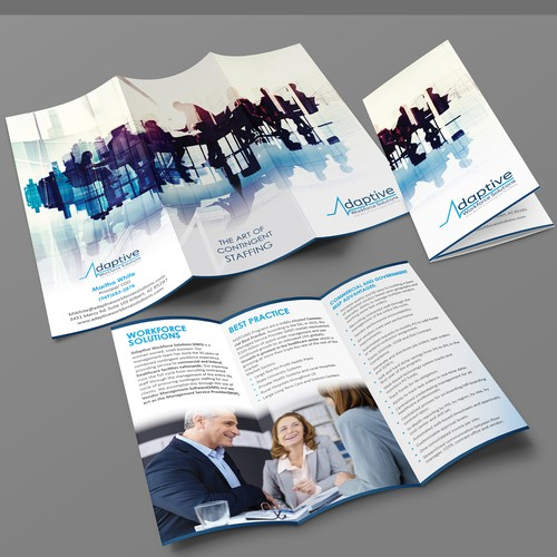 Brochure for startup