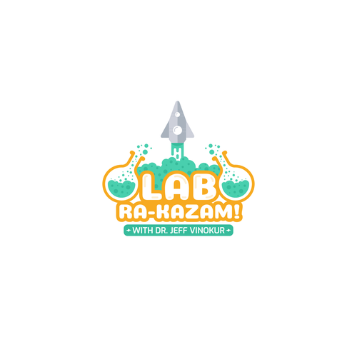 Colorful Logo for KIDS SCIENCE TV SHOW