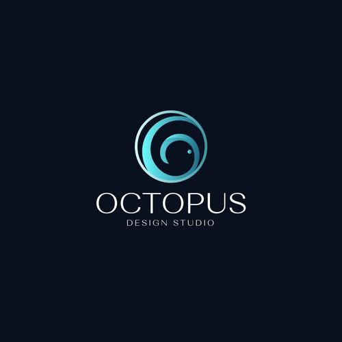 Logo Octopus design studio