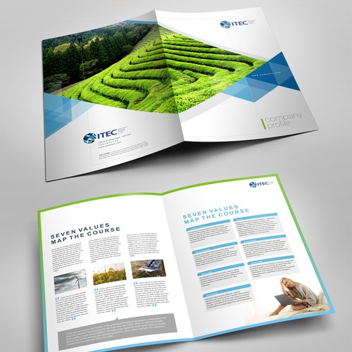 Desing and International Brochure to attact Countries