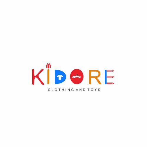 logo for toy and clothes company