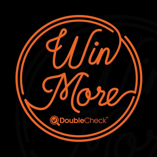 T-Shirt Design For Double Check