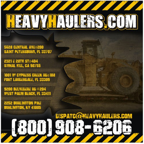 Heavy Haulers Banner