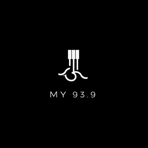 simple logo for my 93.9
