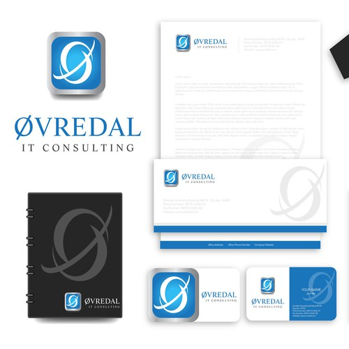 Logo for Øvredal Consulting