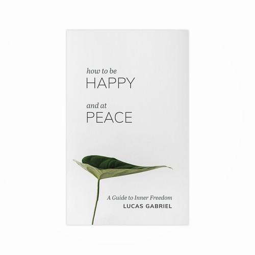 Book Cover Design - Happy & Peace