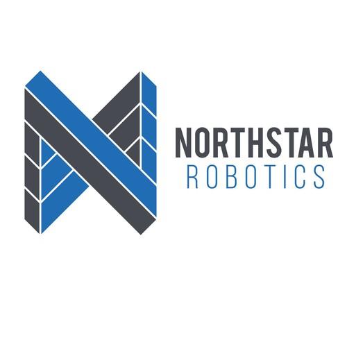 Geometric logo for Robotics company