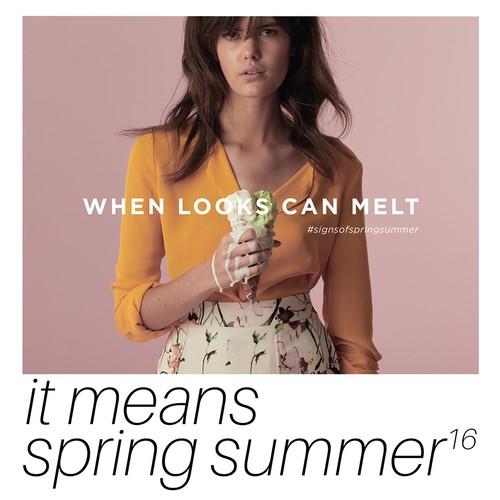 Fashion ad