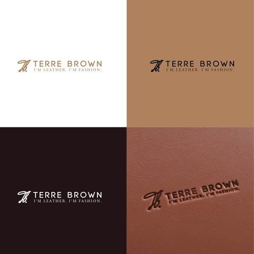 monogram logo TERRE BROWN