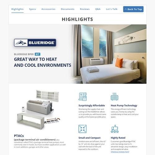 Redesign for E-commerce