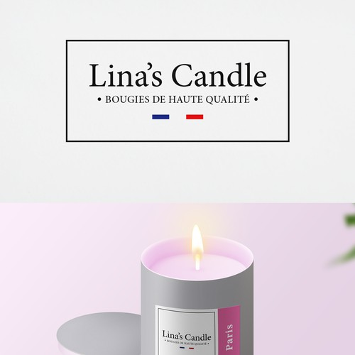 Candle - French Company (Logo + Label + Packing)