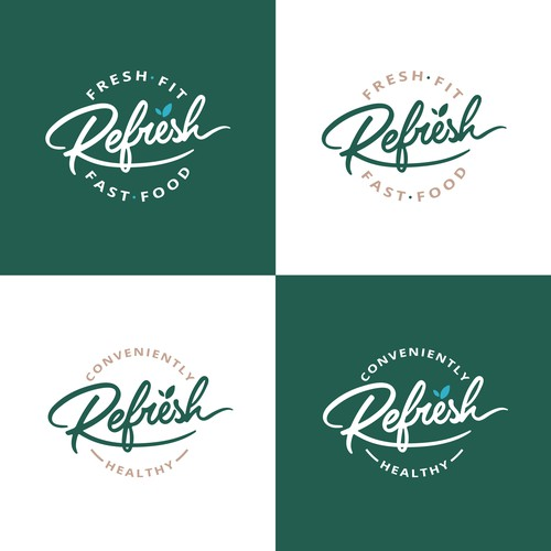 Fresh, Captivating, logo