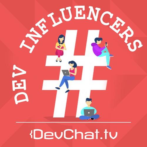 Dev Influencers Podcast Cover Artwork