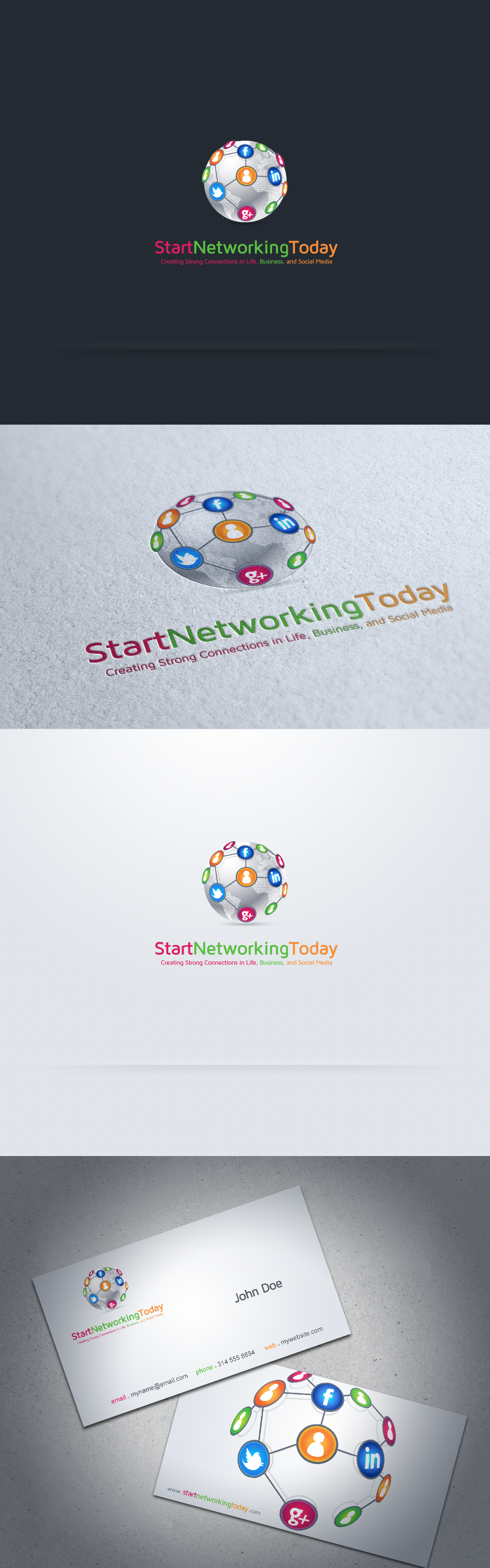 My Networking Website Needs and Awesome Logo!
