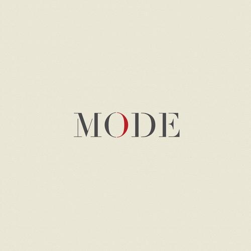 Mode, super clean logo