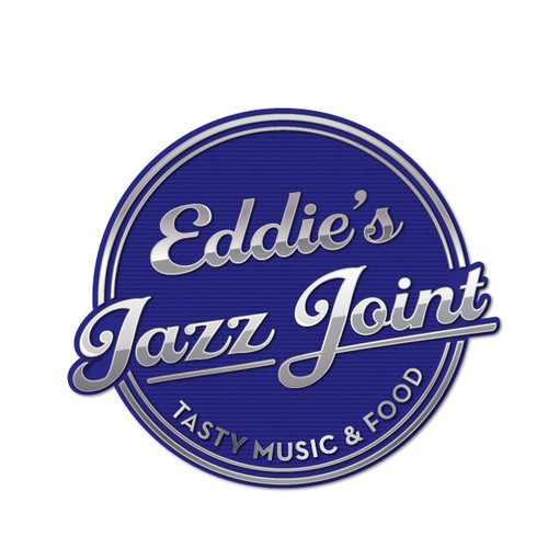 Logo for jazz club