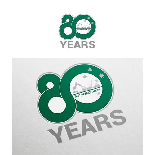 80th Anniversary Company Logo