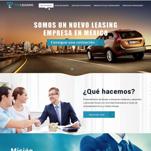 Top Leasing Website Design
