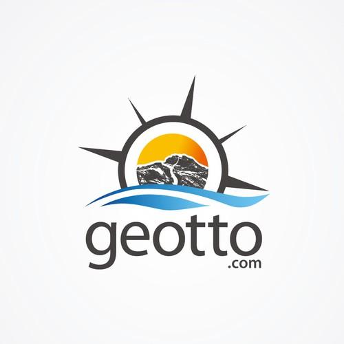 Geotto logo concept