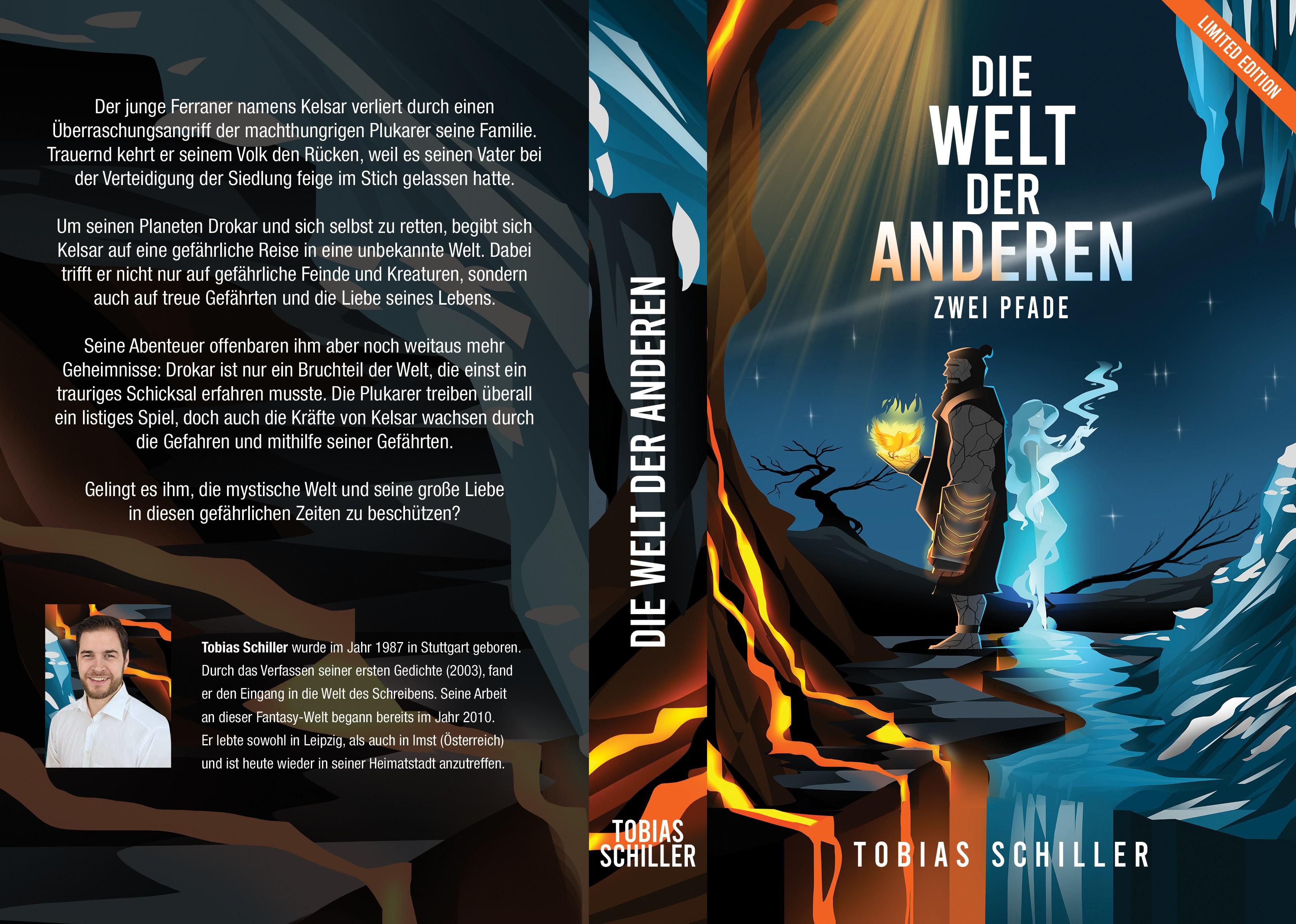Neuer High-Fantasy Roman braucht ein episches Cover