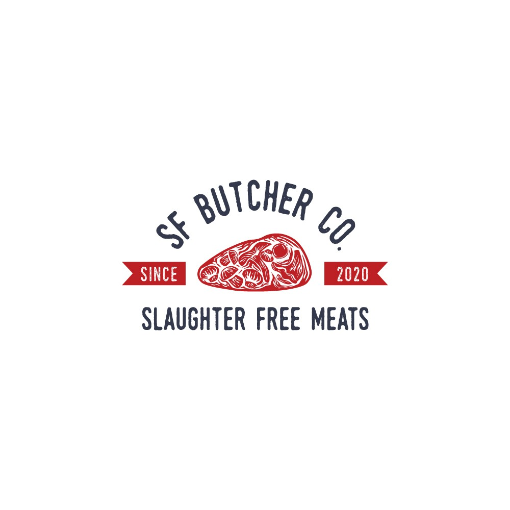 Logo Design for Slaughter Free Meat Company