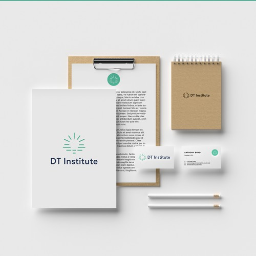 Creative logo for an Institute