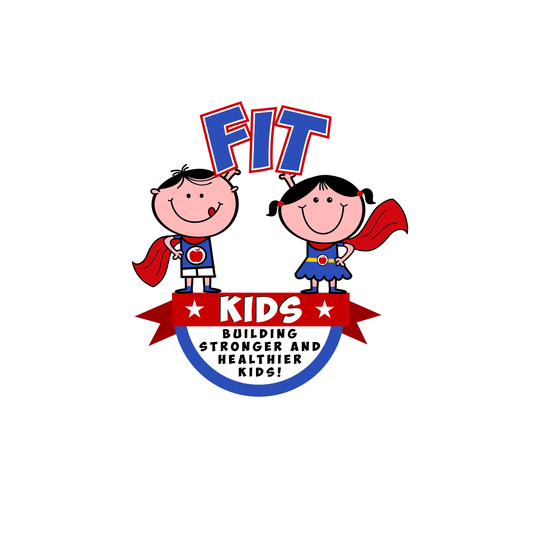 Create a super brand logo for Fit Kids