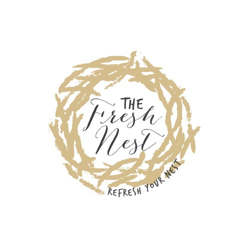 Create a cool logo for a new home/interior design company, The Fresh Nest.