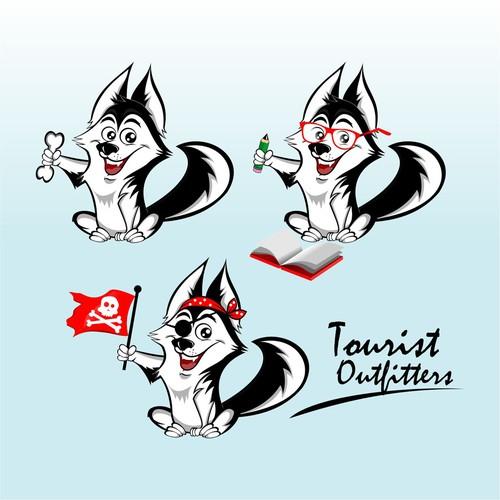 Fun Dog character
