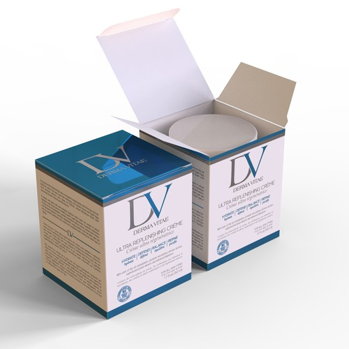 DermaVitae box design