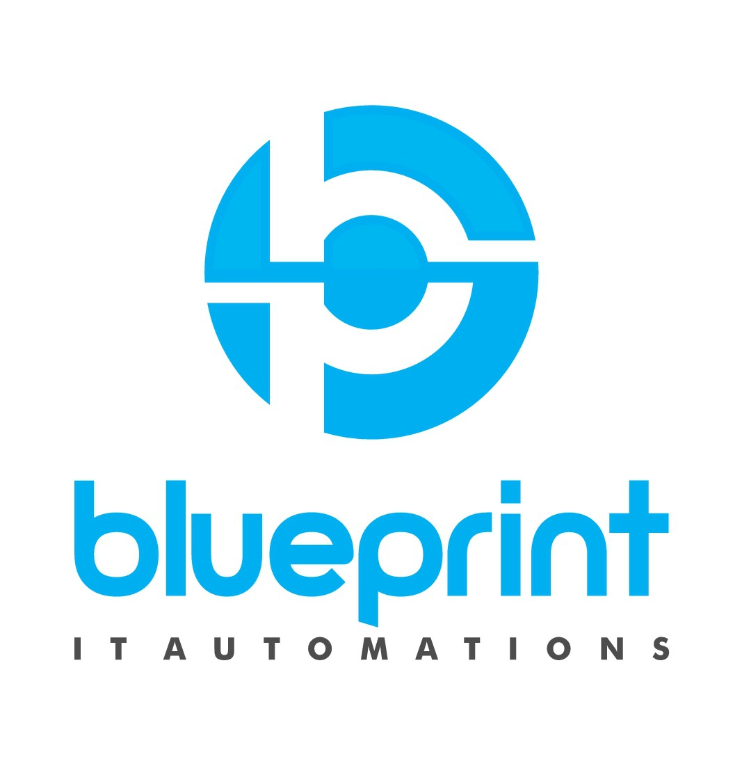 Create a modern logo for IT automation business