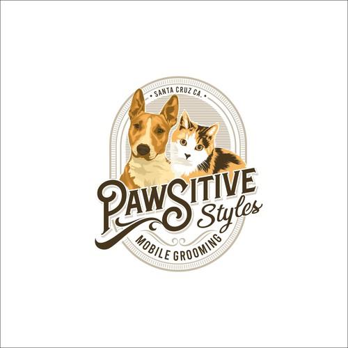 Logo Concept for pawsitive