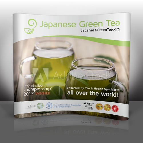 Trade Show Booth Display for Japanese Green Tea