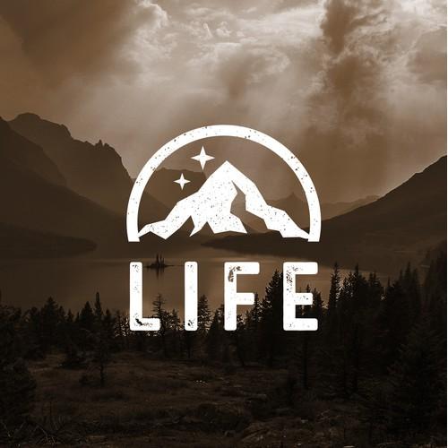 Life - Clothing Brand - Logo Design