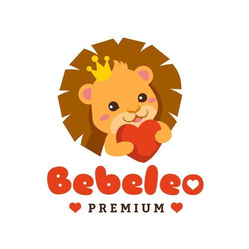 Baby lion logo design for an ultra sound brand