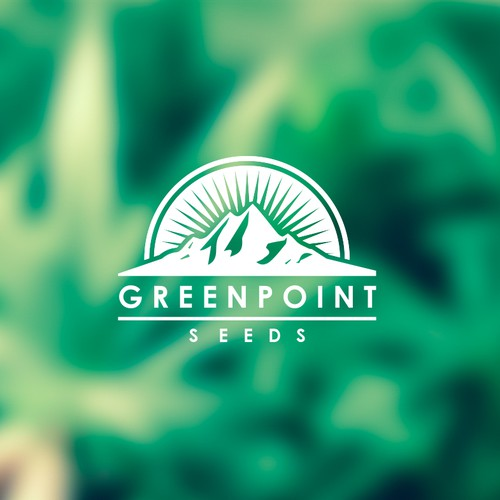 Greenpoint Seeds | Cannabis Company Logo Design