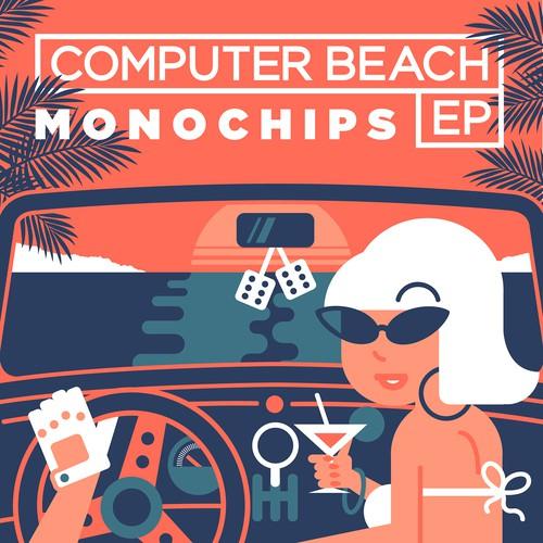 Computer beach ep cover