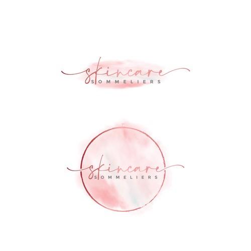 Logo for a skincare company.