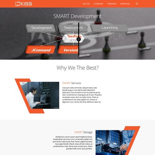 Simple Homepage for KISS-IT Dev