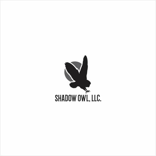 logo for shadow owl, llc